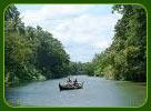 Thiruvallam Backwaters in Kerala