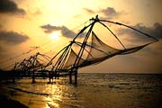 Chinese Fishing Nets, Kumarakom